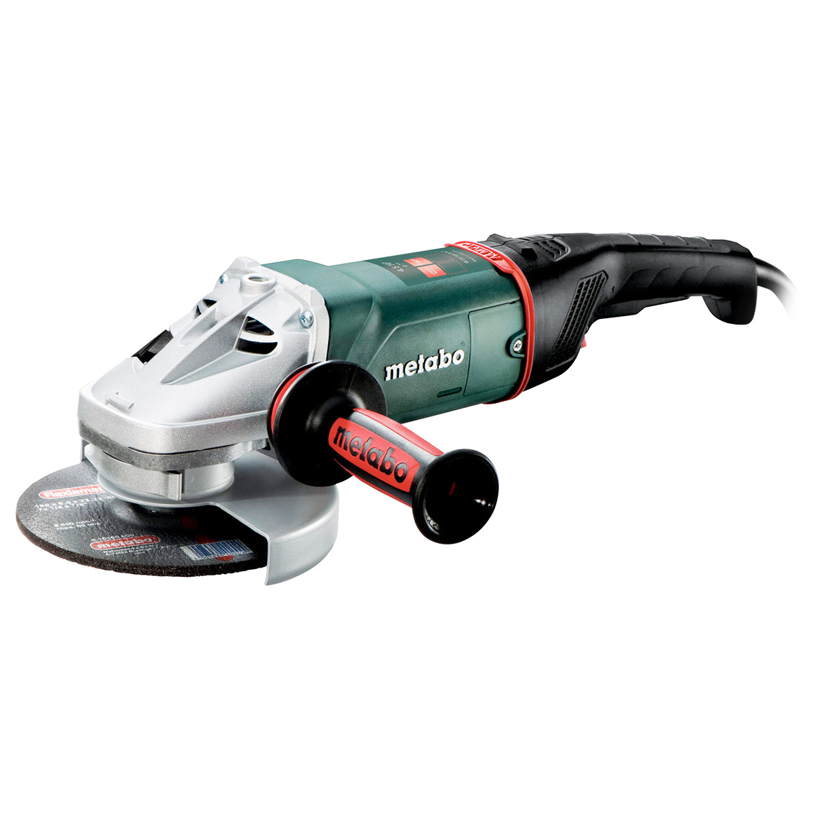Metabo 606466420 15-Amp 8,500 RPM Corded Angle Grinder with Deadman/Lock-Off