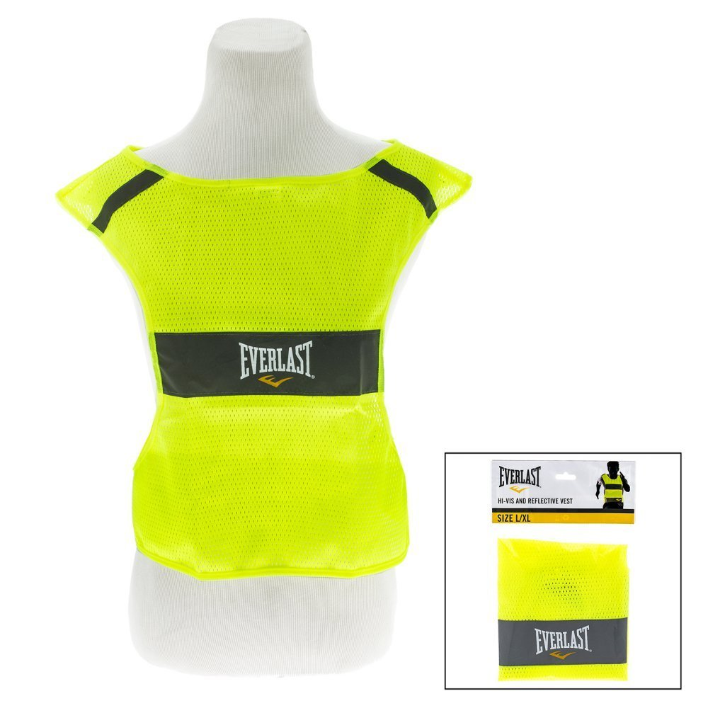 Everlast High Visibility Safety Running, Biking and Activity Reflective Vest