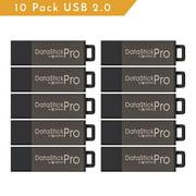 Centon ValuePack USB 2.0 Datastick Pro (Grey), 2GB 10 Pack
