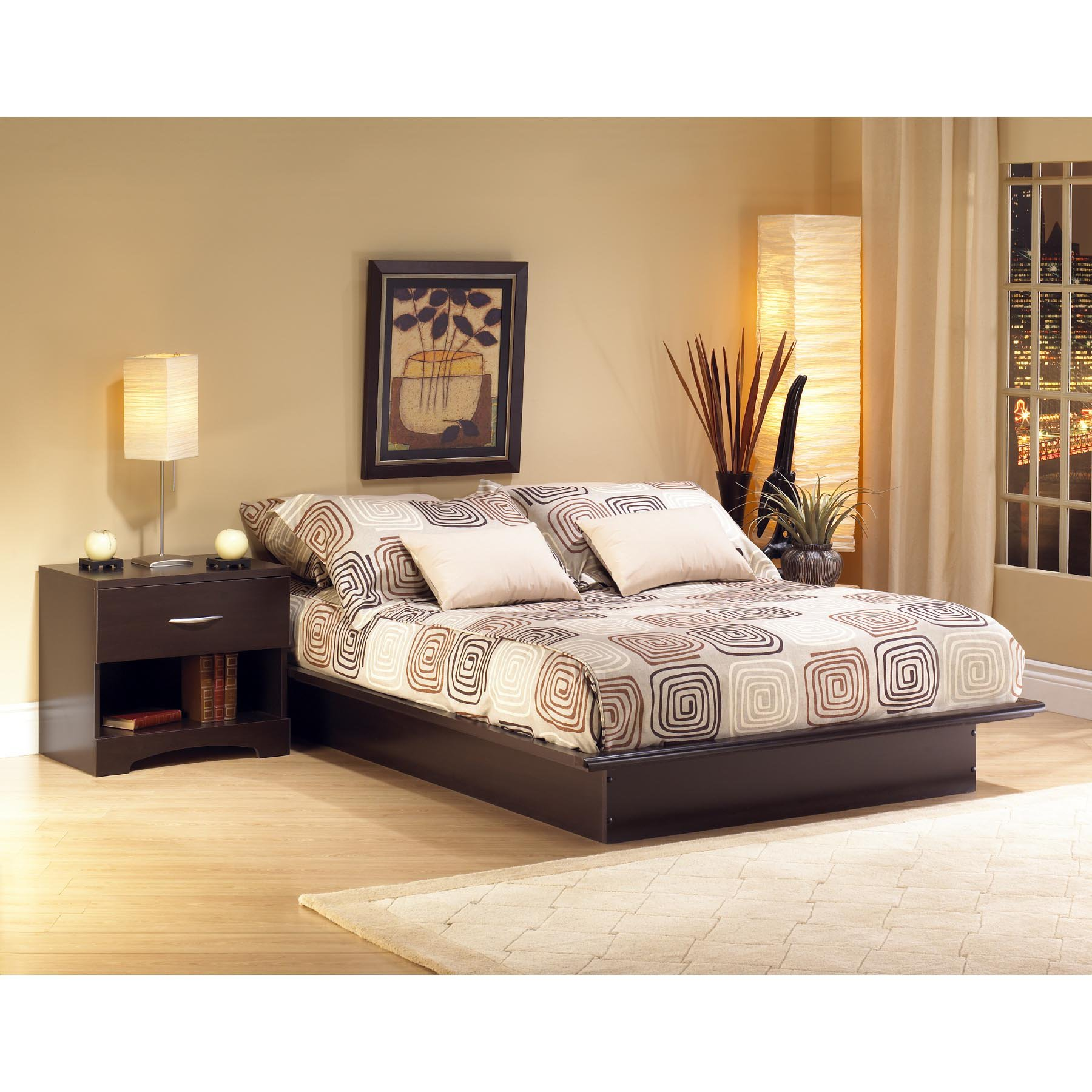 South Shore Canyon Platform Bed Set by South Shore Industries Ltd