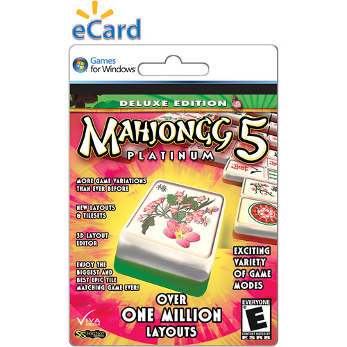 VivaMedia Mahjong Platinum 5 (Email Delivery)