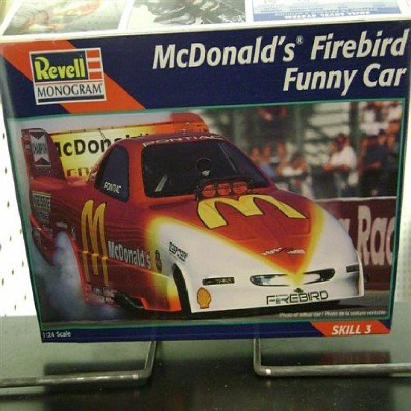 #7636 Revell Cruz Pedregon McDonalds Firebird Funny Car 1 24 Scale Plastic Model Kit by