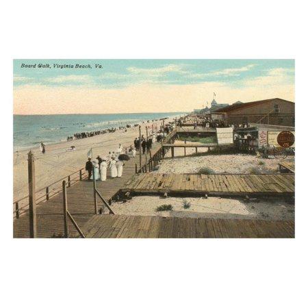 Boardwalk, Virginia Beach, Virginia Print Wall (Ar 15 For Sale In Virginia Beach)