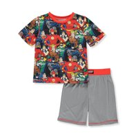Boys' Justice League 2 Piece Pajama Sleep Set (Little Boy & Big Boy)