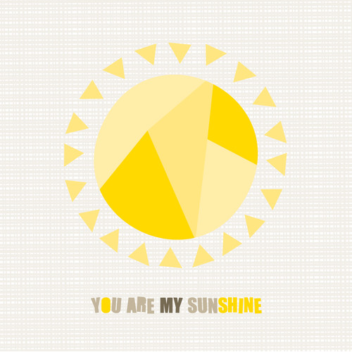 Trendy Peas You Are My Sunshine Wall Art
