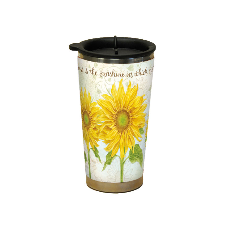 LANG VIRTUE GROWS TRAVELER MUG