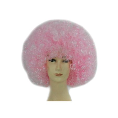 DYMADE 18 Colours Curly Afro Fancy Dress Funky Wig Disco Clown Mens Ladies  Costume - Walmart.com 3f70d7428