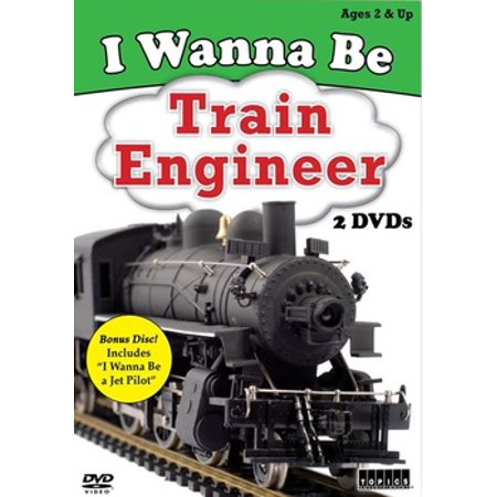 I Wanna Be: Train Engineer (DVD)