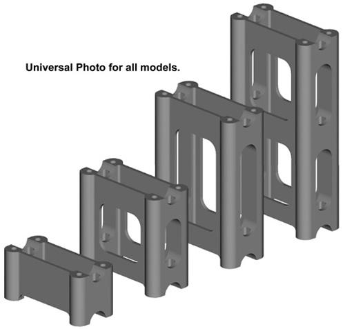"""Powermadd Pivot Style Riser Block - Arctic Cat/Yamaha - 2"""""""