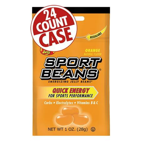 Orange Sport Beans - Jelly Belly Sport Beans: Orange, Box of 24