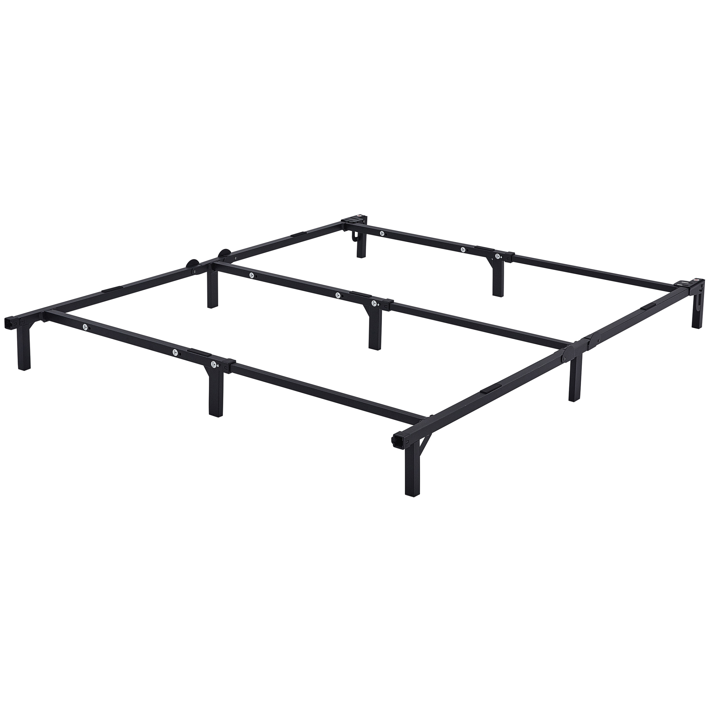 "Mainstays 7"" Adjustable Bed Frame, Black Steel by Changtai Campvalley Leisure Product Co., Ltd"