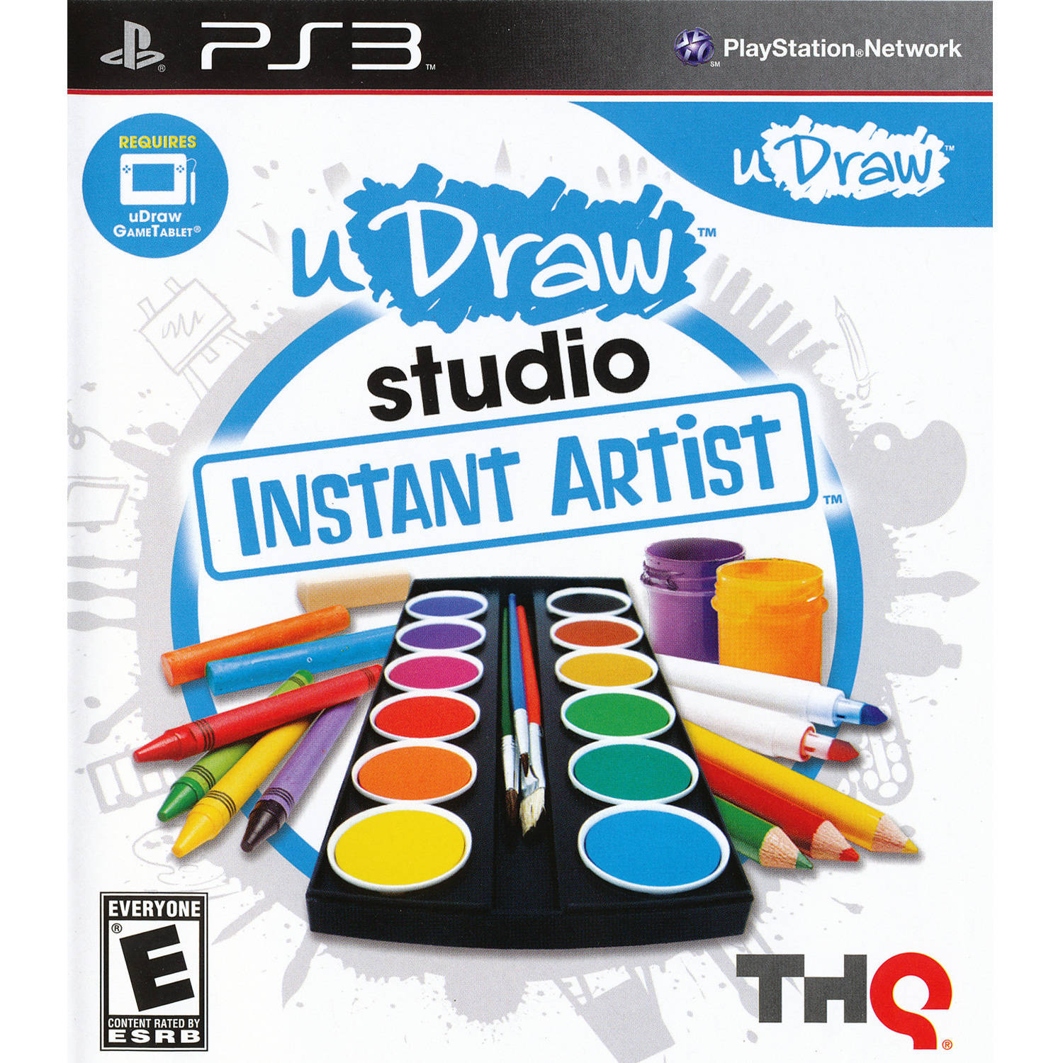 Udraw Studio: Instant Artist (PS3) - Pre-Owned - Game Only