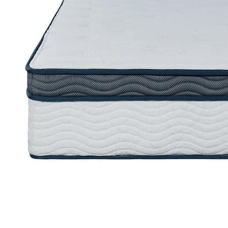 GranRest 12 Inch Tight Top Spring mattress, Navy, Full