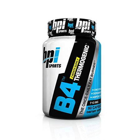 BPI Sports B4 Fat Burner 60 Count (Bpi Sports B4 Pre Training Fat Burner Review)