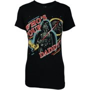 Star Wars Darth Vader Who's Your Daddy? Juniors T-Shirt