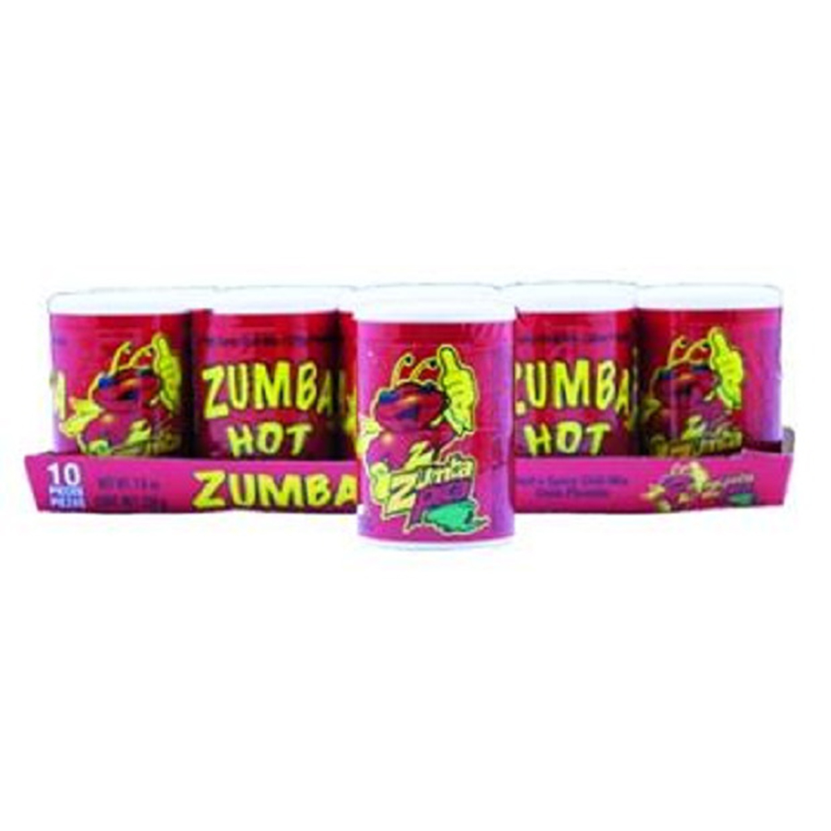 Product Of Zumba, Hot N Spicy, Count 10 - Sugar Candy / Grab Varieties & Flavors