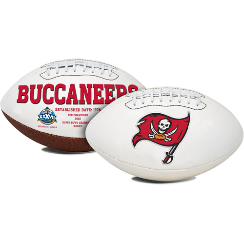 Rawlings Signature Series Full-Size Football, Tampa Bay Buccaneers