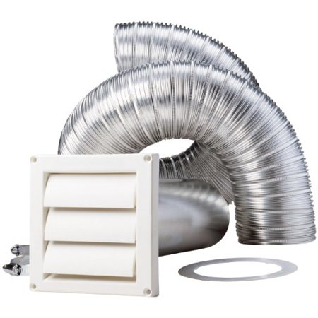 Deflecto DEFSK8WFS 8-Feet Supurr-flex Dryer Vent (Dryer Vent Bird Guard)
