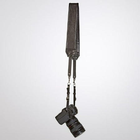 Nyc Leather (Heavy Leather NYC Classic Leather Camera Strap, Black)