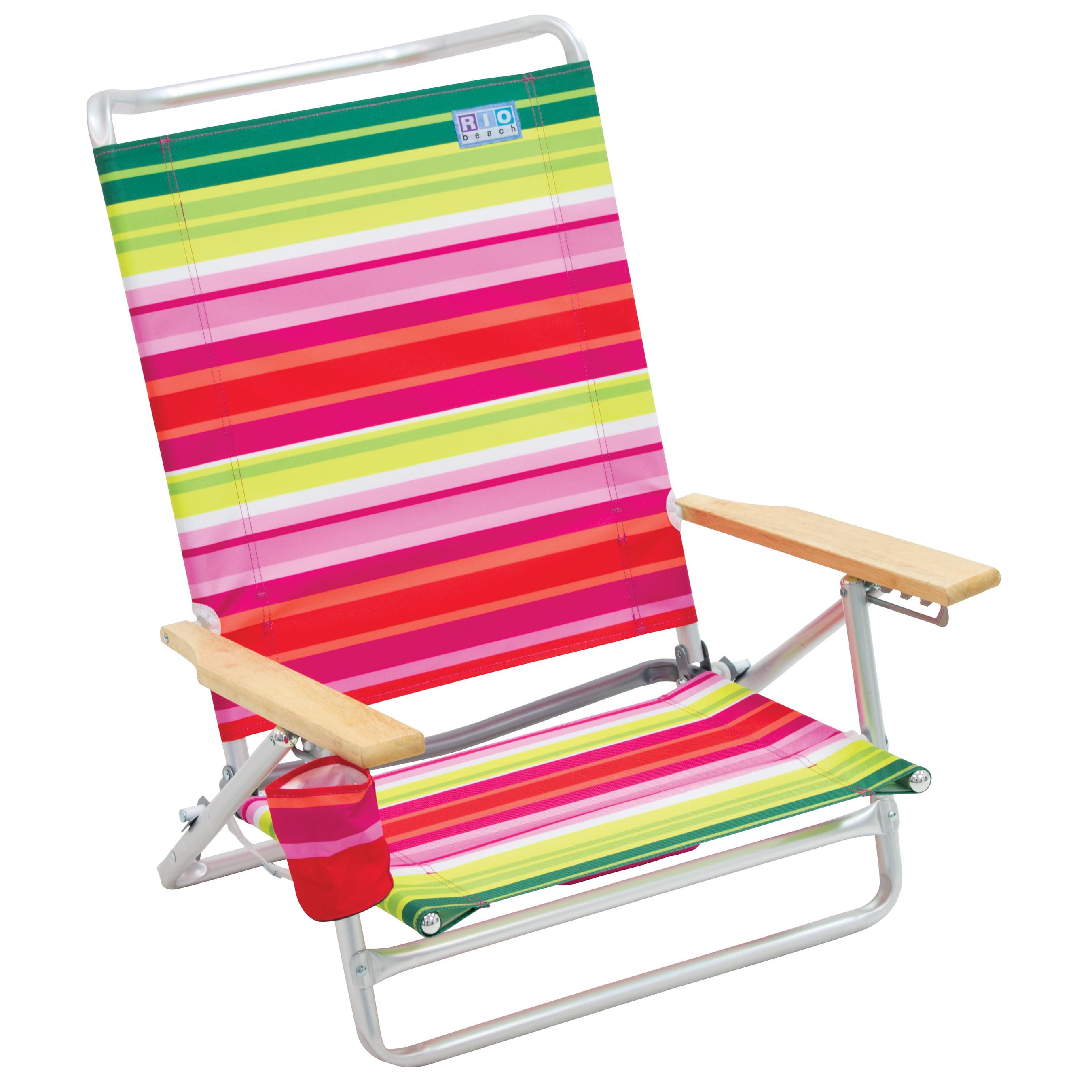 RIO Beach 5-Position High Back Beach Chair
