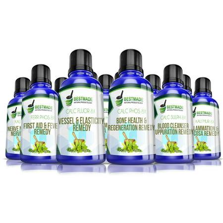 Lactose Free Liquid Tissue (Cell) Salts Kit