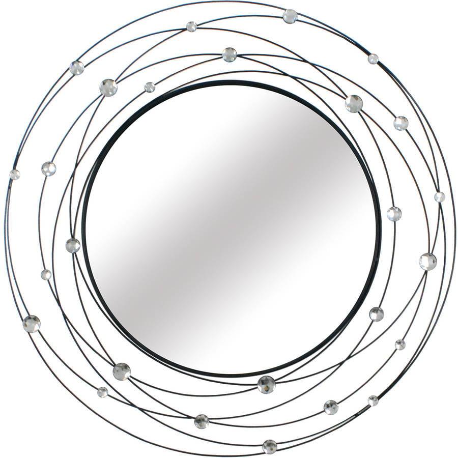 Stratton Home Decor Round Acyrlic Mirror