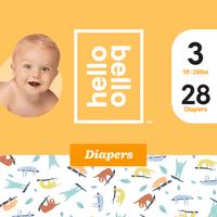 Hello Bello Diapers Jumbo Pack-Sleepy Sloths (Choose Size)