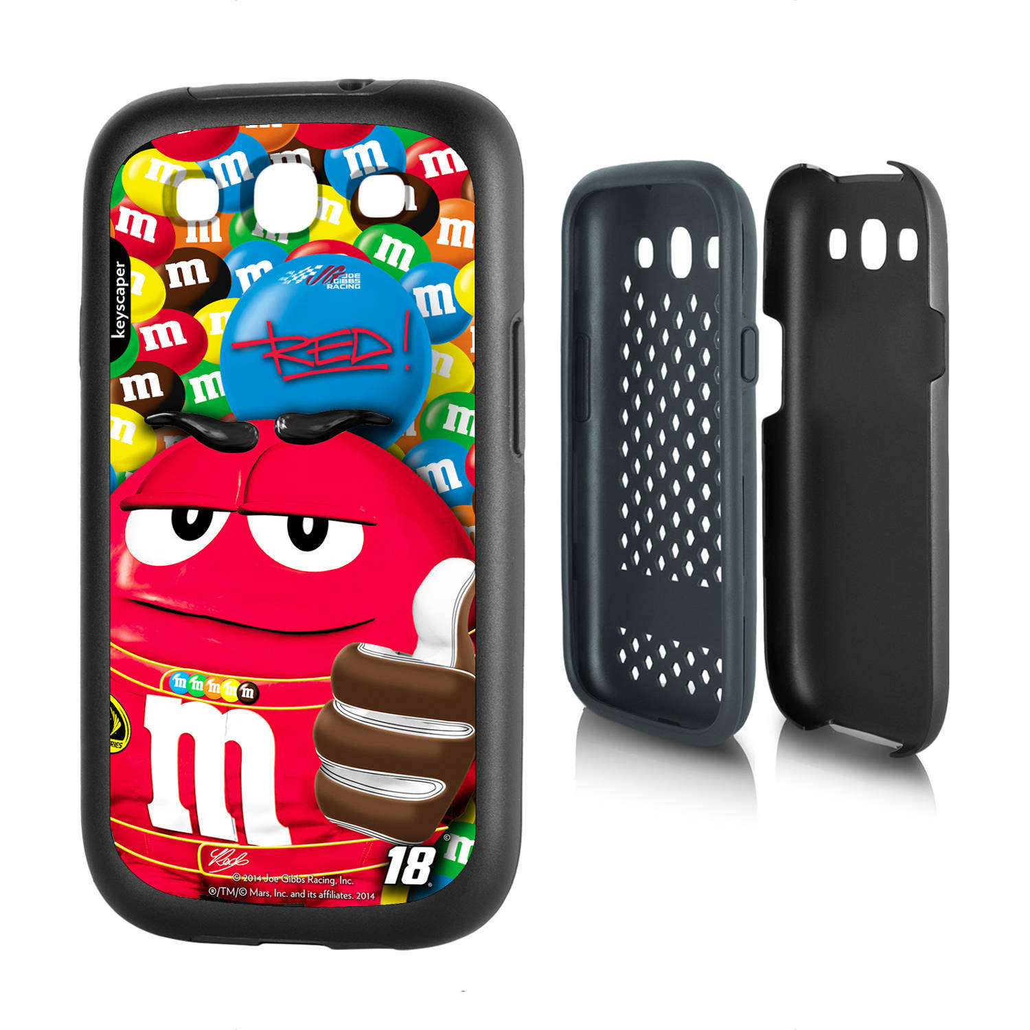 Kyle Busch #18 Galaxy S3 Rugged Case