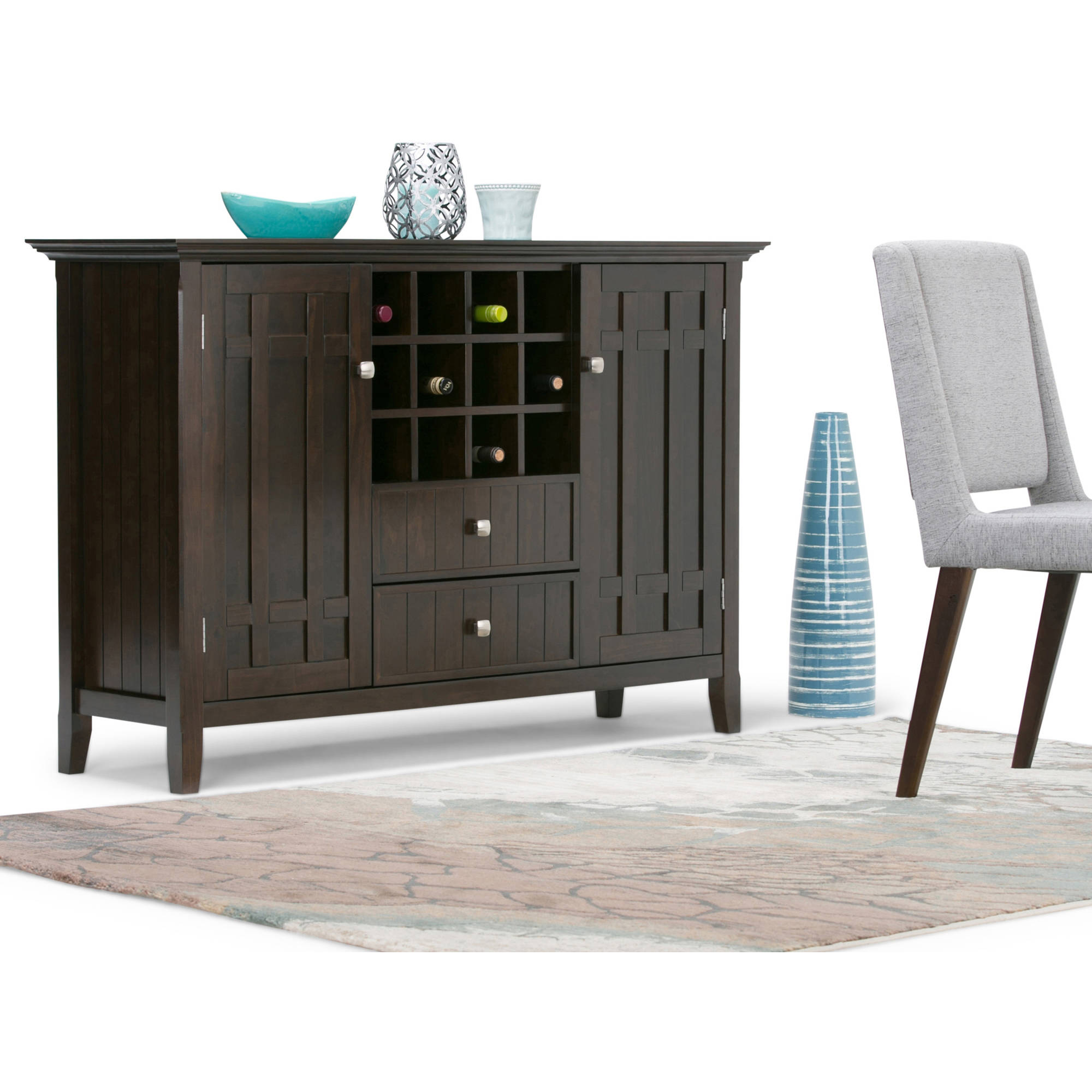 Bedford Sideboard Buffet & Winerack by CCT Global Sourcing Inc