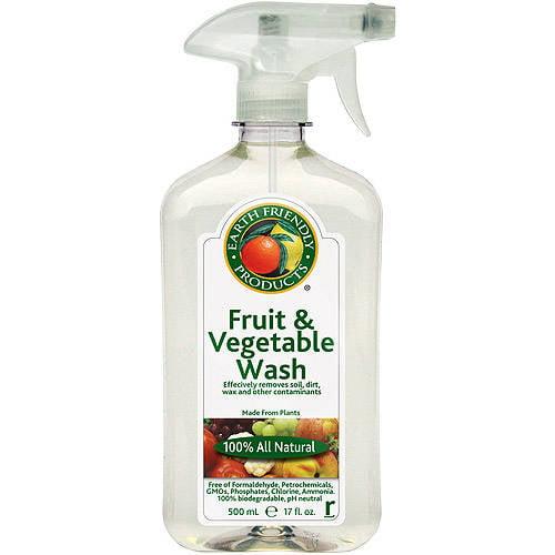 Earth Friendly Fruit & Vegetable Wash, 17 fl oz