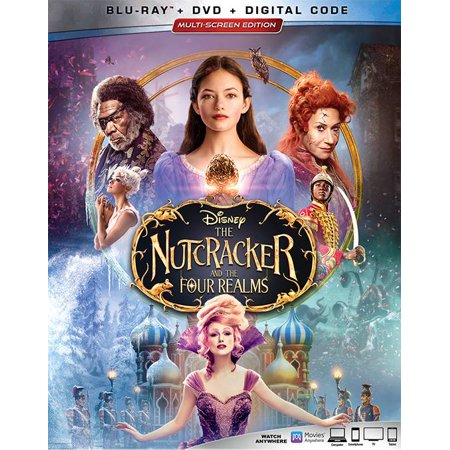 Disney's The Nutcracker And The Four Realms (Blu-ray + DVD + (Genuine Joe Four)