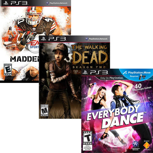 Choose 3 PS3 Value Game Bundle (Pre-Owned)