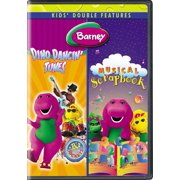 Barney: Dino Dancin' Tunes Musical Scrapbook ( (DVD)) by