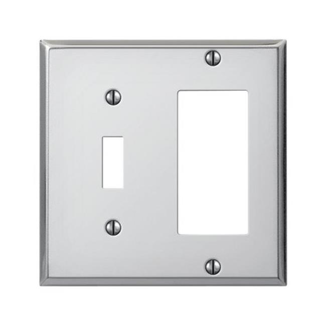 C983trch 1 Toggle 1 Rocker Gfci Wall Plate Pro Polished Chrome