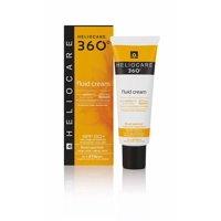 Heliocare 360 Fluid Cream Sunscreen With FernBlock BioShield SPF 50+