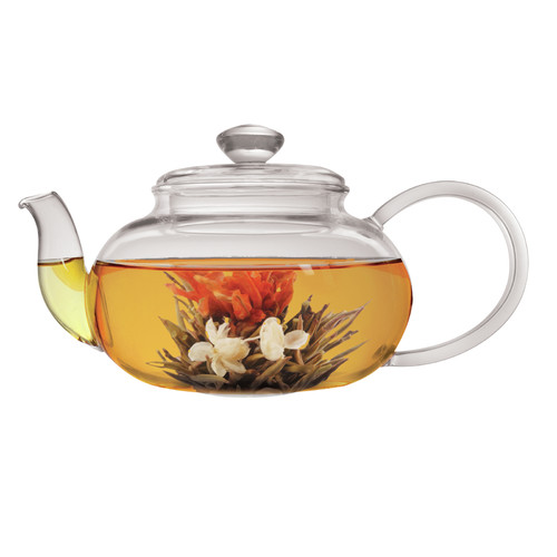 Primula Lea 0.7-qt. Teapot with Infuser and 2 Flowering Tea