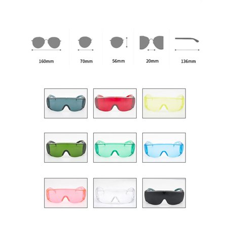 Shockproof Industrial Labor Protection Goggles Anti Laser Infrared Protective Glasses PC Lenses Anti-fog Anti-UV Anti-impact - image 3 of 5