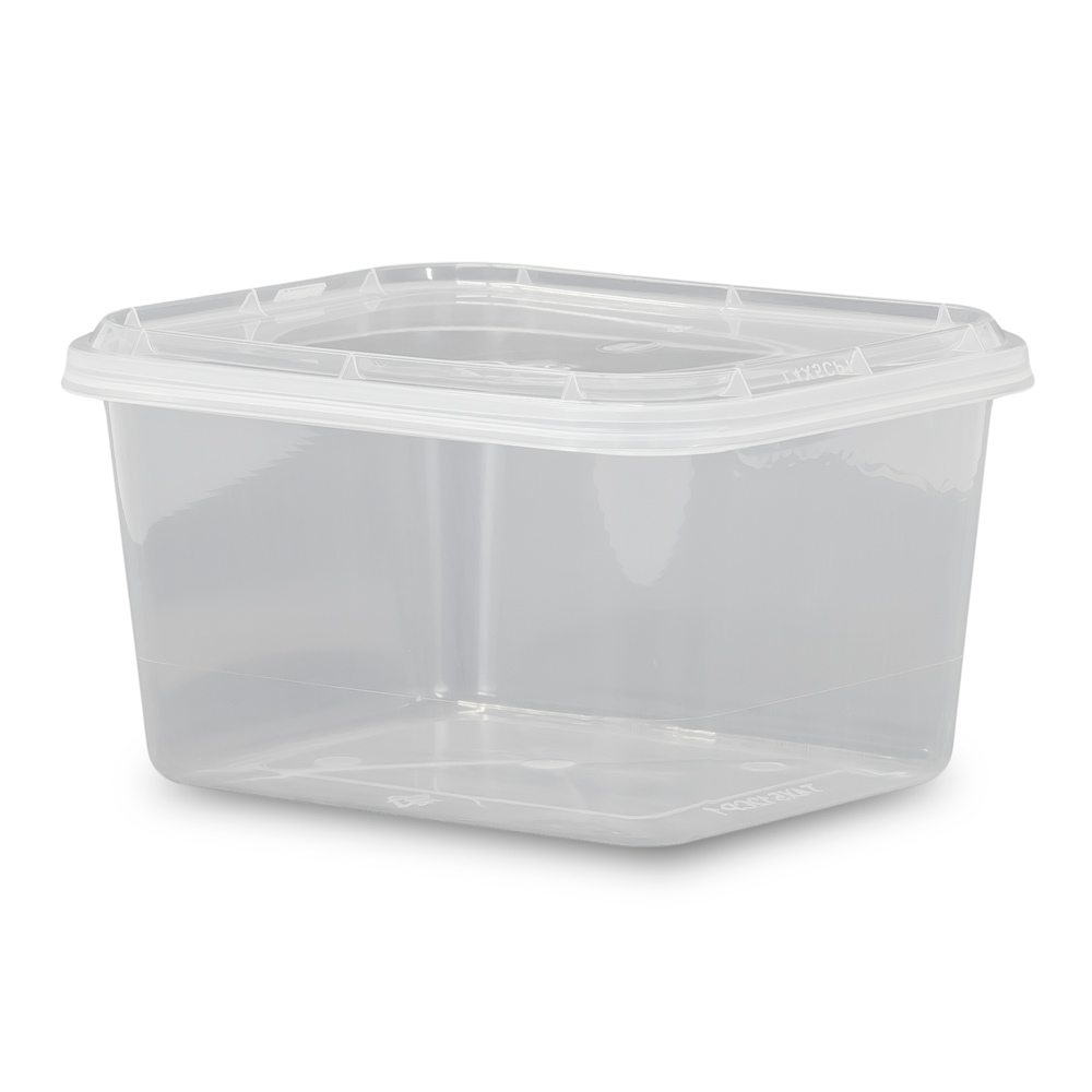 ePackageSupply 12 oz. Food Grade 4 x 5 Rectangular Container with Lid - Various Colors and Quantities