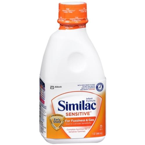 Similac Sensitive Ready-To-Feed With Iron 32 oz (Pack of 3)