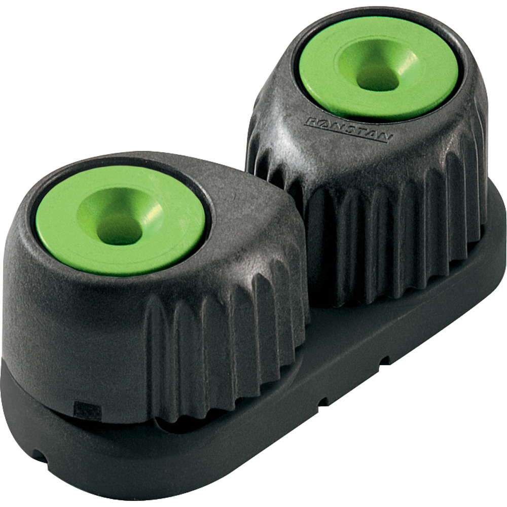 RONSTAN LARGE C-CLEAT CAM CLEAT GREEN W/BLACK BASE