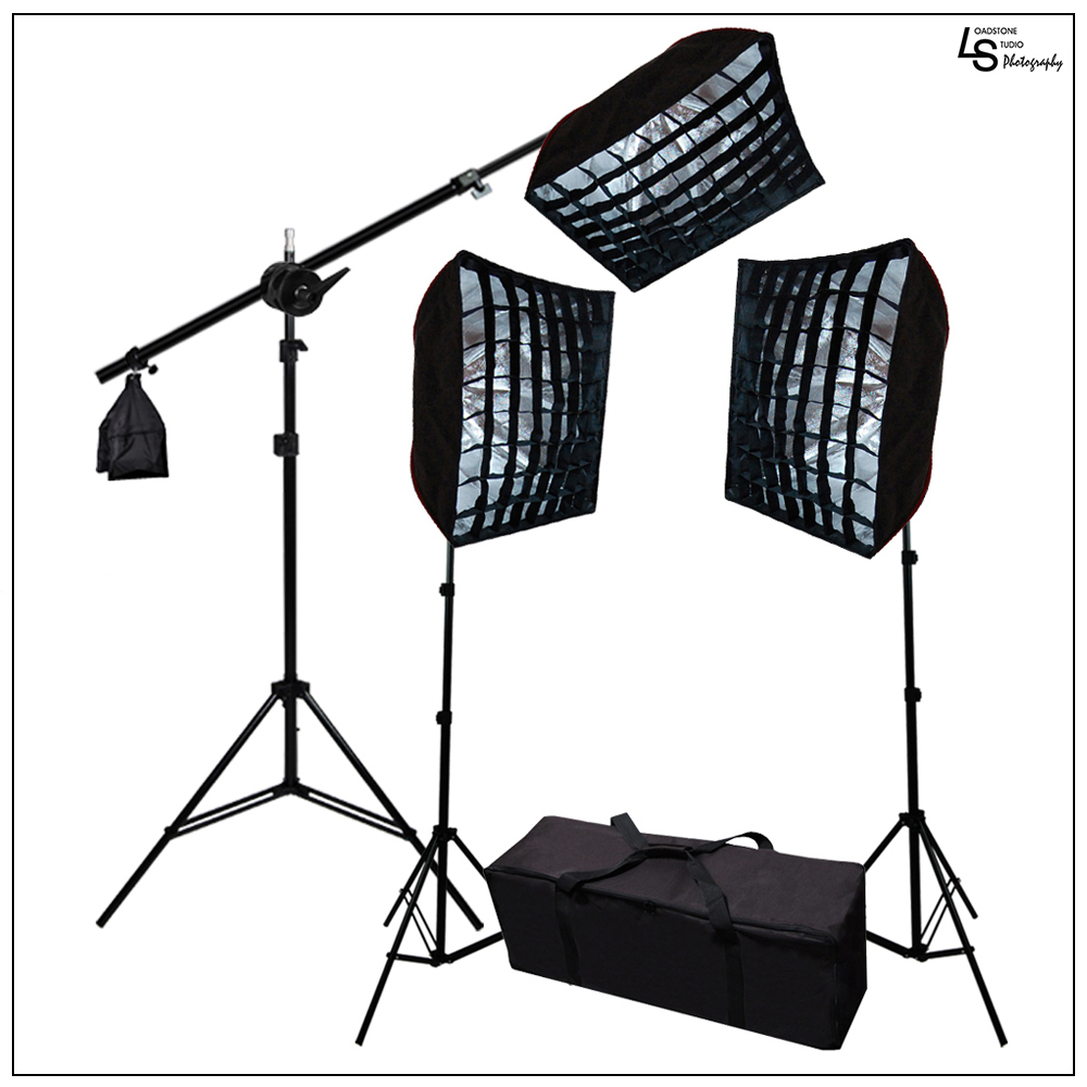 Honeycomb Grid Photo Video Continuous Hair Light Lighting...