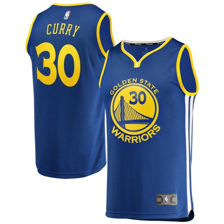 Stephen Curry Golden State Warriors Fanatics Branded Youth Fast Break Replica Jersey Royal - Icon (College Replica Basketball Jersey)