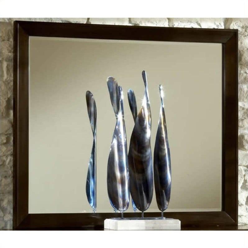 Modus Element Mirror in Chocolate Brown by Modus Furniture International
