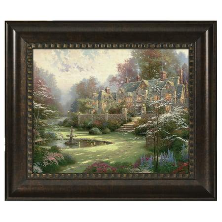 Thomas Kinkade Gardens Beyond Spring Gate - 16