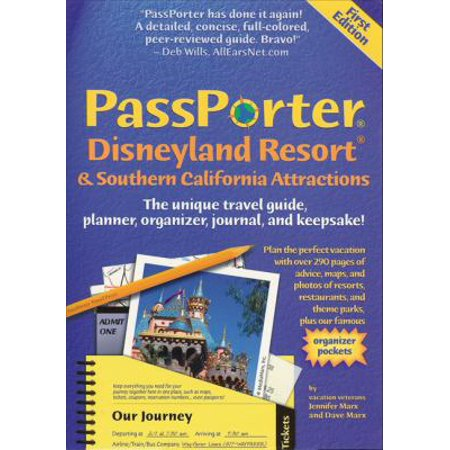 Passporter Disneyland Resort And Southern California Attractions  The Unique Travel Guide  Planner  Organizer  Journal  And Keepsake