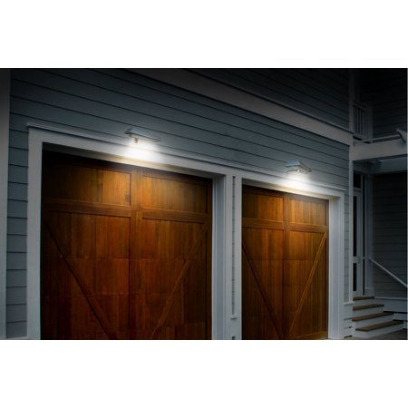NITEBRITE 2pk Solar Rectangular Gutter/Fence Light
