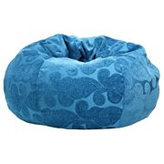 Hudson Industries 30012852815 Morocco Peacock Bean Bag, Extral Large