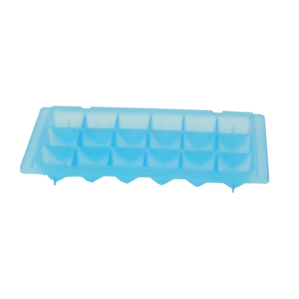 DIY 18 Cubes Ice Cube Tray Food Grade Rhinestone Shaped Ice Making ...