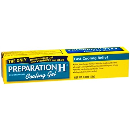 Preparation H Cooling Gel 1.80 oz