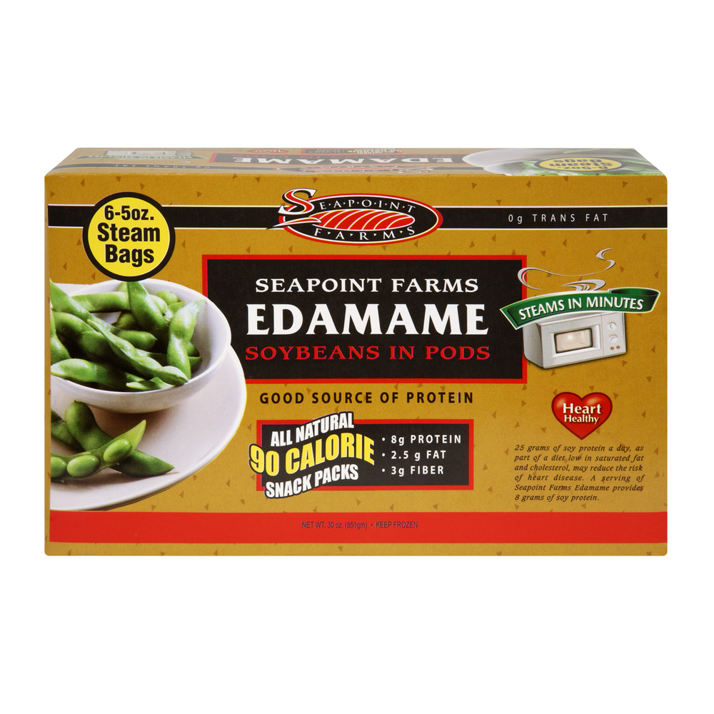 Seapoint Farms Soybeans in Pods Edamame, 30.0 OZ